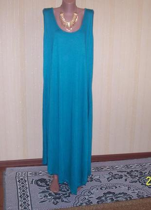 Платье для пышных дам sara lindholrn  турция на наш  56-58 размер