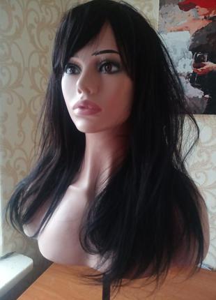 Парик натуральные славянские волосы 60 см
