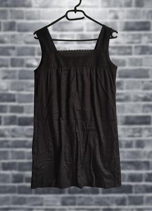 Летний сарафан, маленькое черное платье
