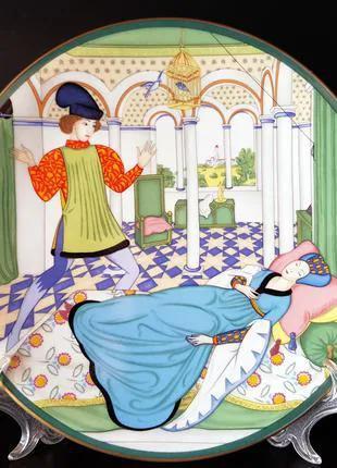 "Продам немецкую, фарфоровую тарелку ""Спящая красавица""."