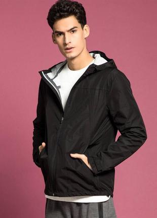Черная куртка парка old navy с капюшоном !