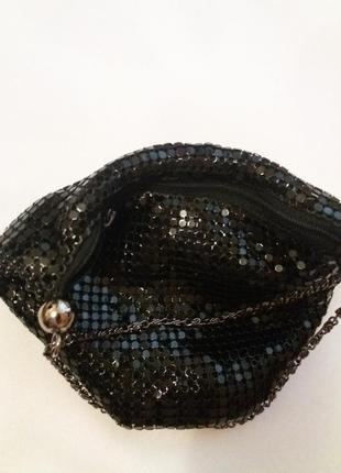Вечерняя сумочка кольчуга-бренд- dunes
