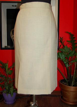Женская юбка-миди, плотная