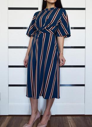 Платье в полоску dp