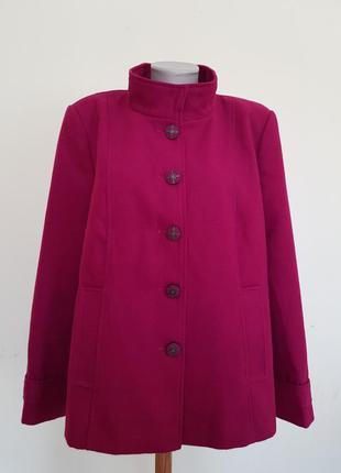 Красивое качественное полу пальто