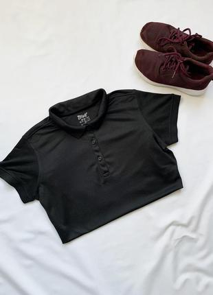 Футболка, спортивная футболка, спортивна футболка, черная, чор...