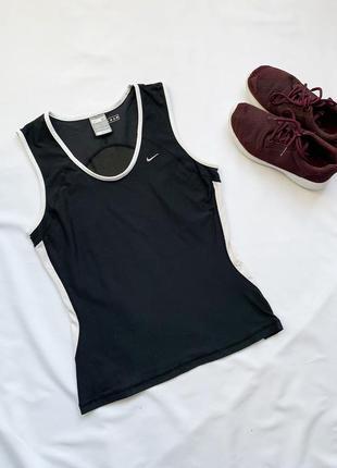 Спортивная майка, майка, черная, чорна, футболка, найк, nike, ...