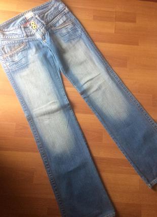 Классные джинсы pepe jeans на высокий рост