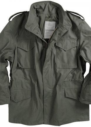 Польова куртка M-65 Alpha Industries Field Coat (оливкова)