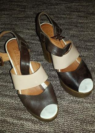 Босоножки туфли на высокой платформе