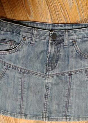 Джинсовая юбка mexx на девочку 12 лет в идеальном состоянии
