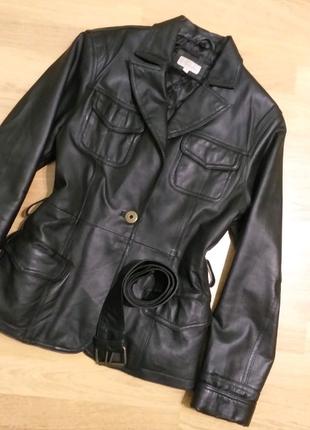 Куртка кожаная кожанка пиджак