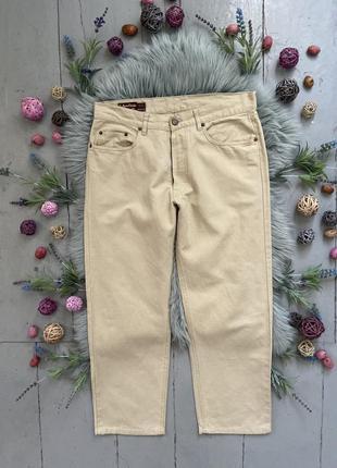 Актуальные прямые винтажные джинсы №135