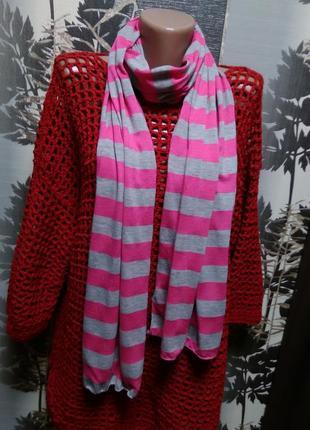 Трикотажный шарф new look в идеальном состоянии