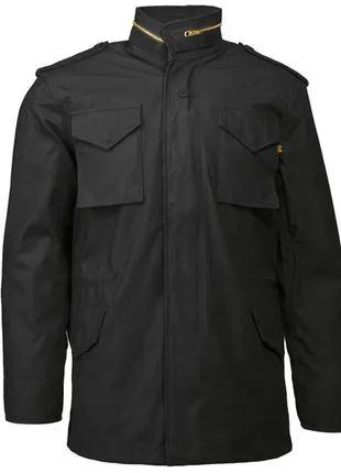 Польова куртка Slim Fit M-65 Field Coat Alpha Industries (чорна)