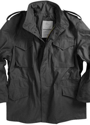 Куртка M-65 Field Coat Alpha Industries (чорна)