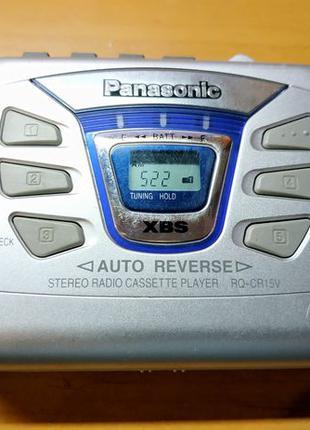 Кассетный стерео радио плеер Panasonic RQ-CR15V