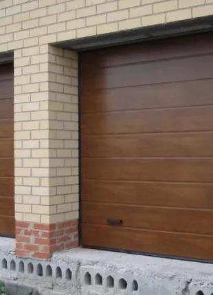 Автоматические секционные гаражные ворота, автоматика для ворот