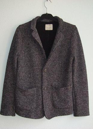 Пиджак трикотажный для мальчика zara испания