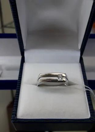 Мужской серебряный перстень печатка на мизинец