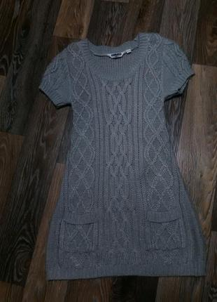 Платье - туника на девочку 12-13 лет в идеальном состоянии