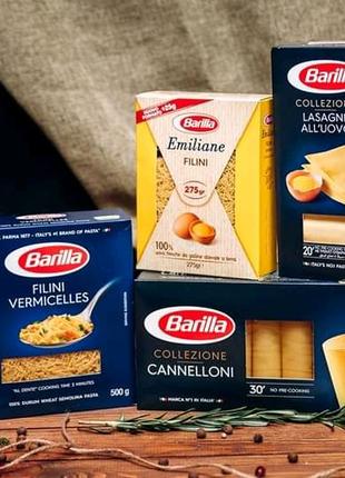 Barilla спагетти макароны из твердых сортов пшеницы