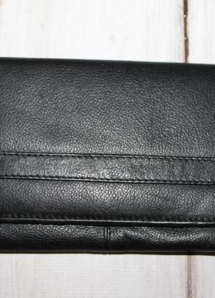 Компактный кожаный кошелек 100% натуральная кожа