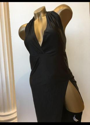 Платье на завязках микромасло prettylittlething