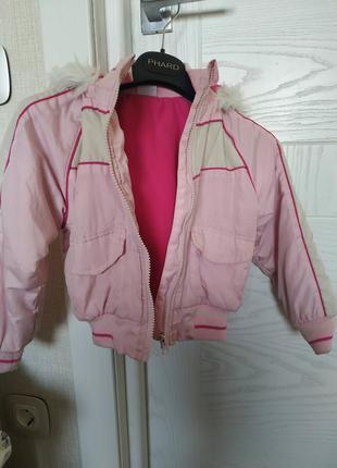 Куртка на весну девочке 3-4 года