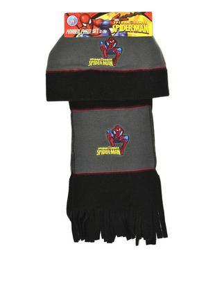 Шапка шапочка человек паук людина павук + шарф комплект набор ...