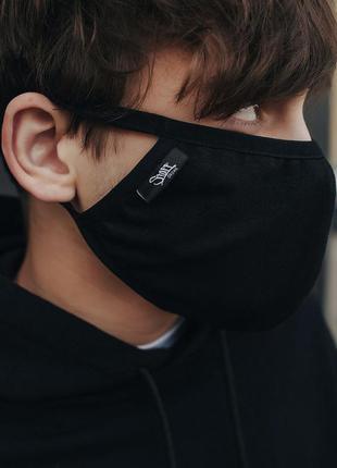 Многоразовая маска staff black