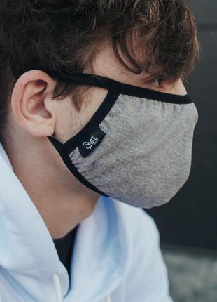 Многоразовая маска staff gray