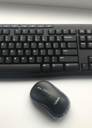 Продам Logitech MK270 Black/Silver (клавиатура + мышь М185)
