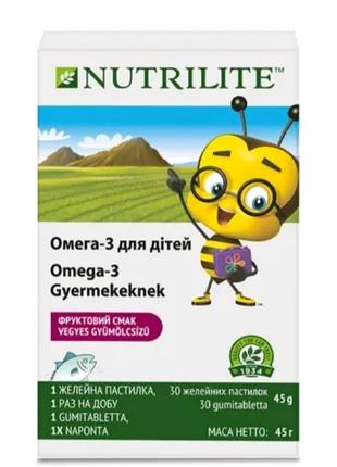 Омега-3 детская Amway Nutrilite