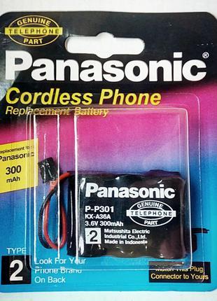 Аккумулятор Panasonic P-P301 KX-A36A 3,6Vx300mAh
