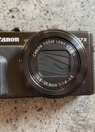 Фотоаппарат Canon G7x Mark II