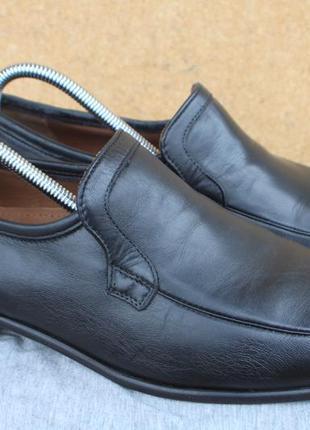 Туфли sioux кожа швейцария 41р лоферы мокасины