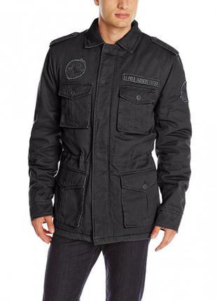 Польова куртка утеплена M-65 Altimeter Alpha Industries (чорна)