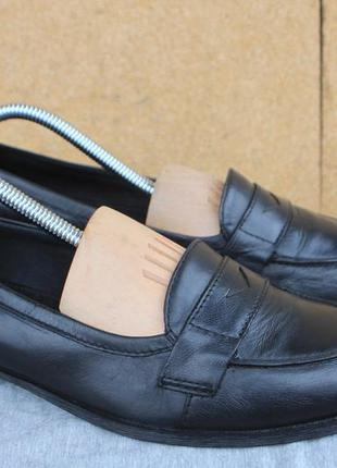 Лоферы vagabond кожа швеция 38р туфли мокасины