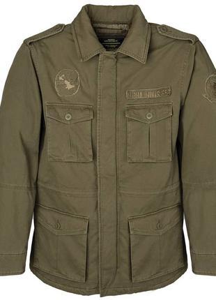 Утеплена польова куртка M-65 Altimeter Alpha Industries,оливкова