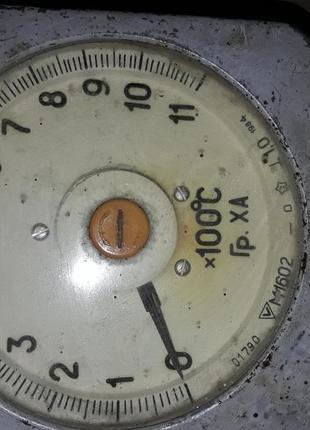 Измеритель температуры до 1100 градусов.(сигнализатор средних зна