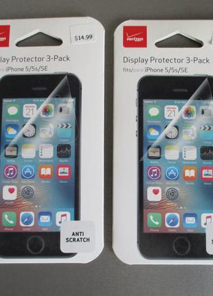 Фирменная verizon защитная пленка для Apple iPhone 5 5s SE