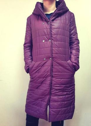 Женское пальто на весну/осень 46(л,м)