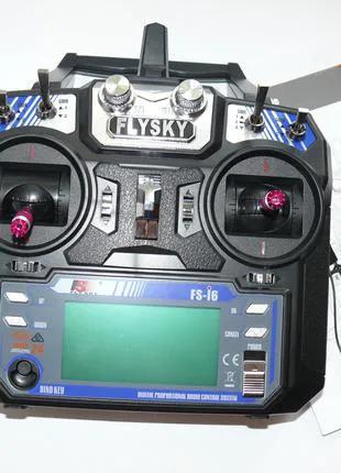 Радиоаппаратура FlySky-FSI6, пульт с приемником в жестком корпусе