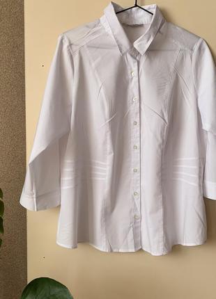 #розвантажуюсь біла блуза/ рубашка. marks and spencer