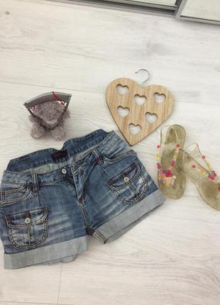 Акция 💯!!!джинсовые короткие молодёжные шорты