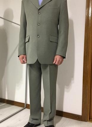 Мужской деловой классический костюм, m-l
