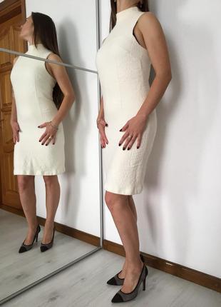 Платье футляр, тёплое, натуральная мягкая шерсть на подкладке,...