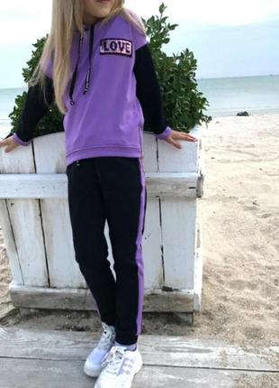 Спортивный костюм для девочки спортивний