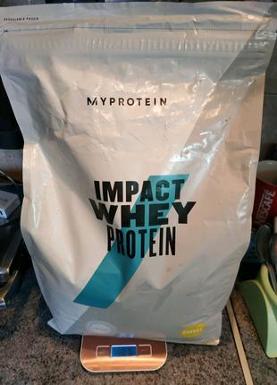 Protein Myprotein Banana 5 kg. Протеин со вкусом банана 5 кг
